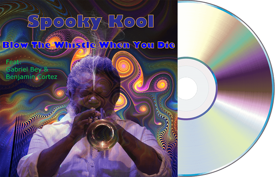Cover of Spooky Kool's album Blow The Whistle When You Die